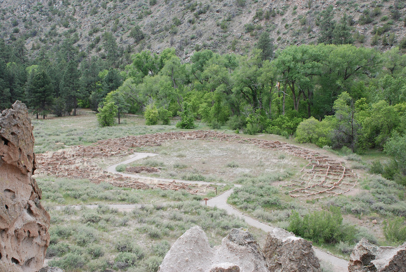 Anasazi Village Ruins, Bandelier National Monument, New Mexico