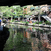The San Antonio River Walk.