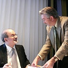 Salman Rushdie at book signing