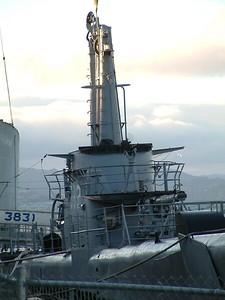 Fisherman's Wharf - Dettaglio della torretta del sommergibile 2004-03-02 at 02-28-38