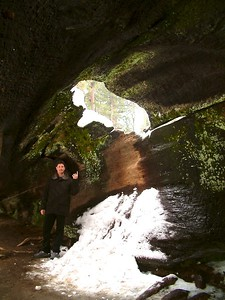 Sequoia park - All'interno di un tronco 2004-03-05 at 22-33-45