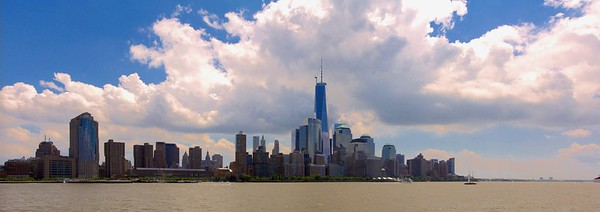 Lower Manhattan Skyline from Hoboken