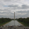 Monument Mall with Washington Monument.