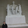 Alan at the Lincoln Memorial.