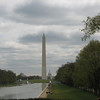 Monument Mall with Washington Monument and Capitol Building