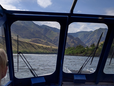 Jetboat ride on the Snake River