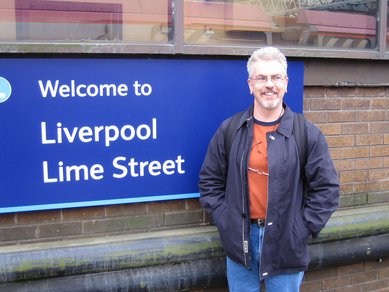 Rick arrives in Liverpool.