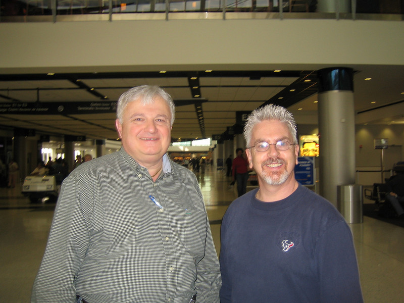 Intercontinental Airport Houston<br /> Ralph & Rick