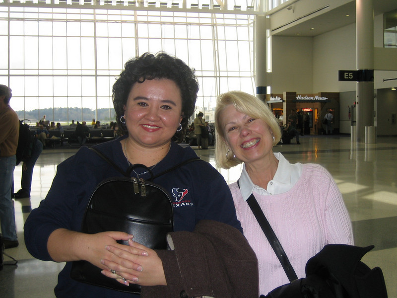 Intercontinental Airport Houston<br /> Yolanda & Barbara