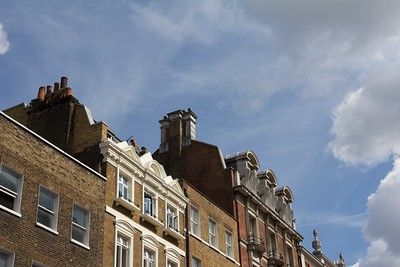London roofs