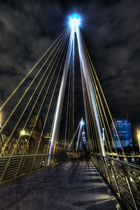 Golden Jubilee Bridges Hdr