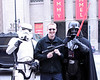 John with Darth Vader and a Storm Trooper at The Walk of Fame