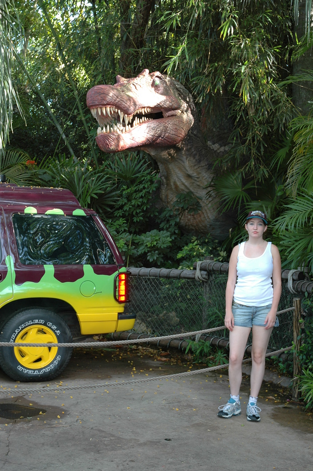 Another T-Rex and Kim shot.