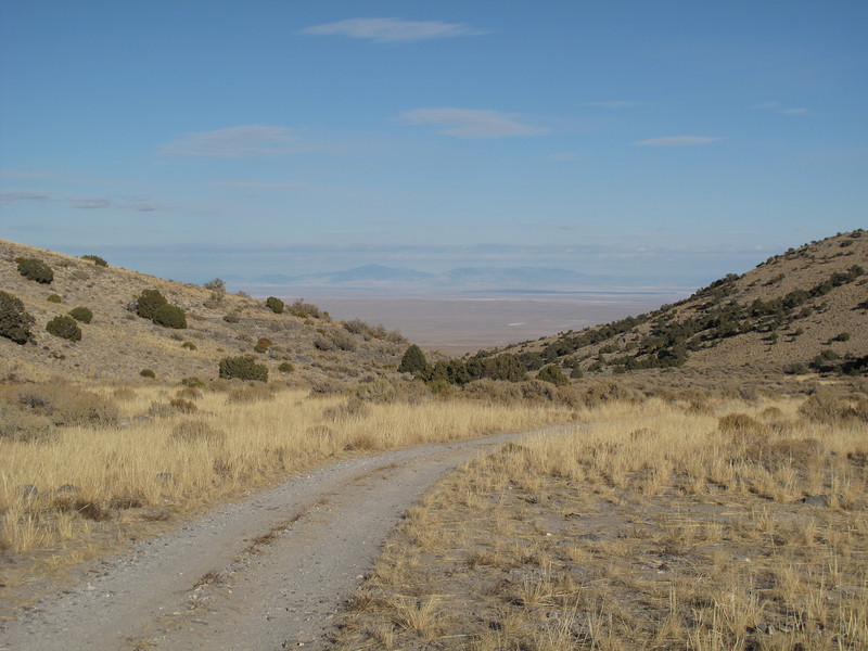 road to Notch Peak trailhead
