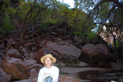 Rita at Emerald Pools