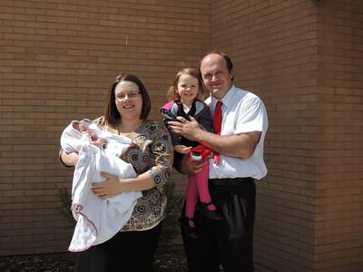 Utah Visit & Camryn's Blessing April 2014