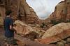 The trail we took wove thru this canyon...