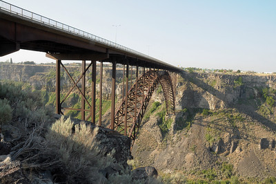 I.B. Perrine Bridge over the Snake River.  Twin Falls, ID is just across the bridge.