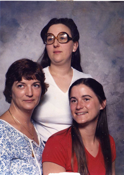 Just to make things interesting - here is a family photo from SOMETIME IN THE 70's!!!  HA!!!