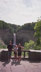 Beautiful shot of Taughannock Falls!