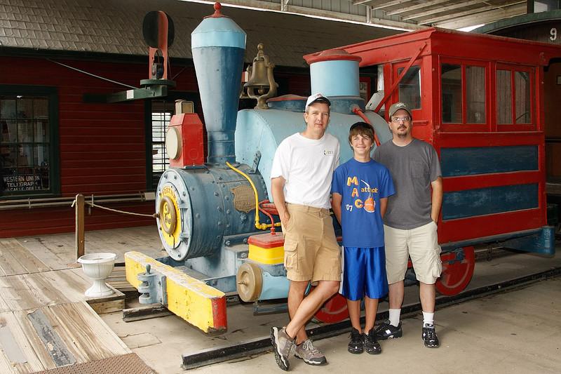 Pioneer Museum Brian, Mack and Mark