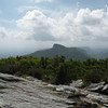 Final backward glance at Table Rock from the summit of Hawksbill Mountain.<br /> Hope to return some day.