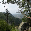 View of the Linville Gorge from Table Rock<br /> Pisgah Forest, NC