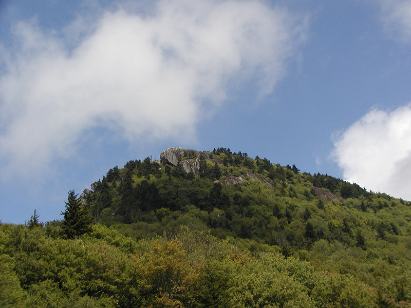 Another of the rocky peaks at Grandfather Mtn.