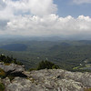 Looking down off Grandfather Mtn.