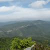 View of Linville Gorge from Table Rock Summit
