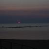 Port Austin Harborat sunset.