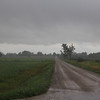 """Angry skies in Bad Axe. This was the day that started the 6"""" of rain!"""