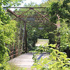 This was part of the trail Jan and I took. The bridge is over a swampy and boggy area - wetlands