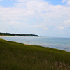 Lake Huron further dow nthe beach away from the principle swimming area