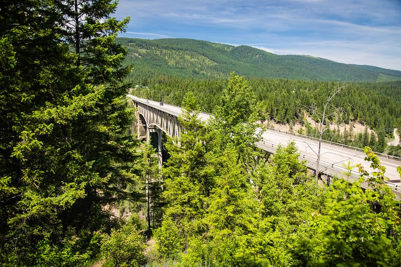 Moyie River Canyon Bridge