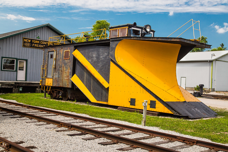 New York Central Snow Plow 3X665