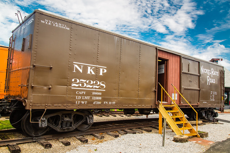NKP Steel Box Car #25228