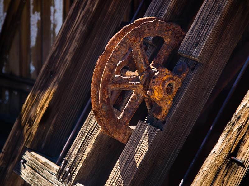 Rust and Wood Grain