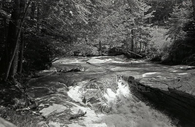 "Pemigewasset River, Franconia Notch State Park NH<br /> <a href=""http://www.nhstateparks.org/explore/state-parks/notchs-natural-wonders.aspx"">http://www.nhstateparks.org/explore/state-parks/notchs-natural-wonders.aspx</a><br /> Film: 35mm ORWO UN54 100 ASA<br /> Camera: Nikon N80<br /> Developed: Caffenol C-L<br /> Scanned Epson V600 Edited in Adobe Elements 10"