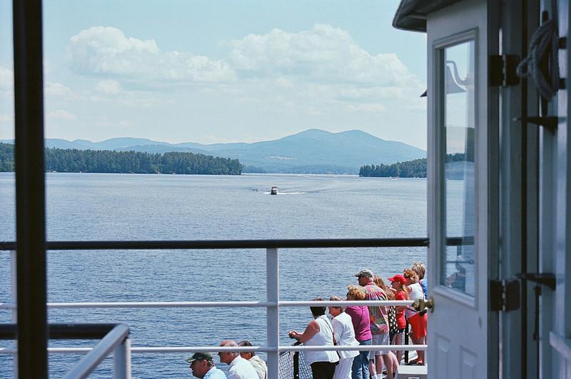 """Mount Washington <a href=""""http://www.cruisenh.com/"""">http://www.cruisenh.com/</a><br />  Weir's Beach <a href=""""http://weirsbeach.com/"""">http://weirsbeach.com/</a> on Lake Winnipesaukee<br /> Film: 35mm Kodak Ektar<br /> Camera: Nikon N80<br /> Developed: CVS<br /> Scanned CVS Scan <br /> Edited in Adobe Elements 10"""