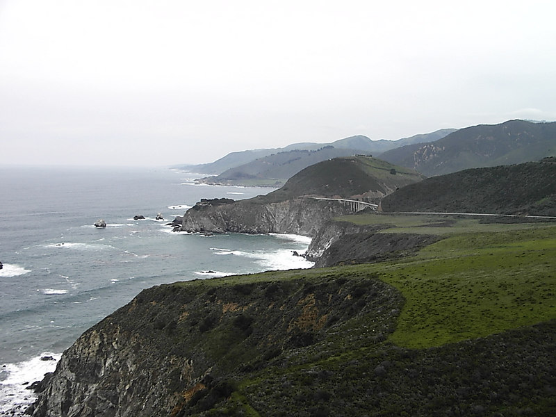 Pacific Coast Highway from San Francisco to Los Angeles