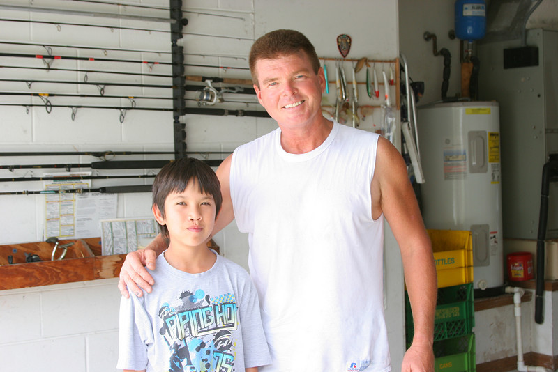 Mark with Brian Dohaney in Melbourne FL.