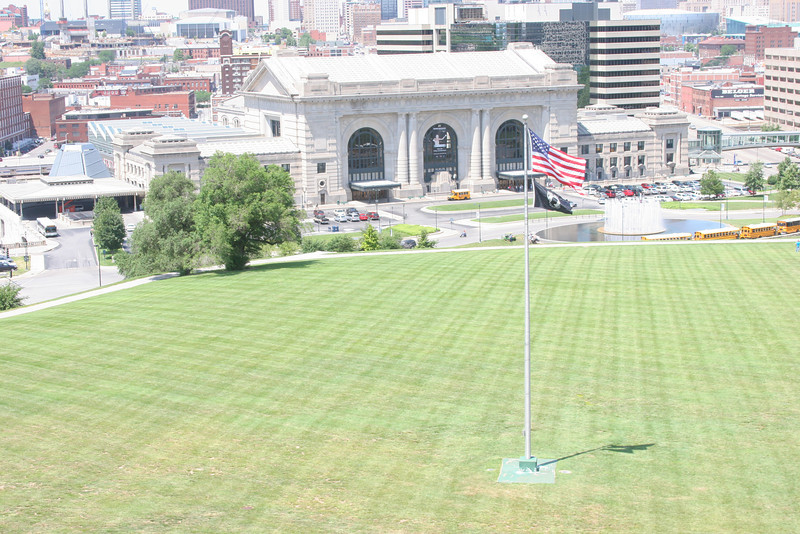 KC Union Station as seen from the WWI Memorial.