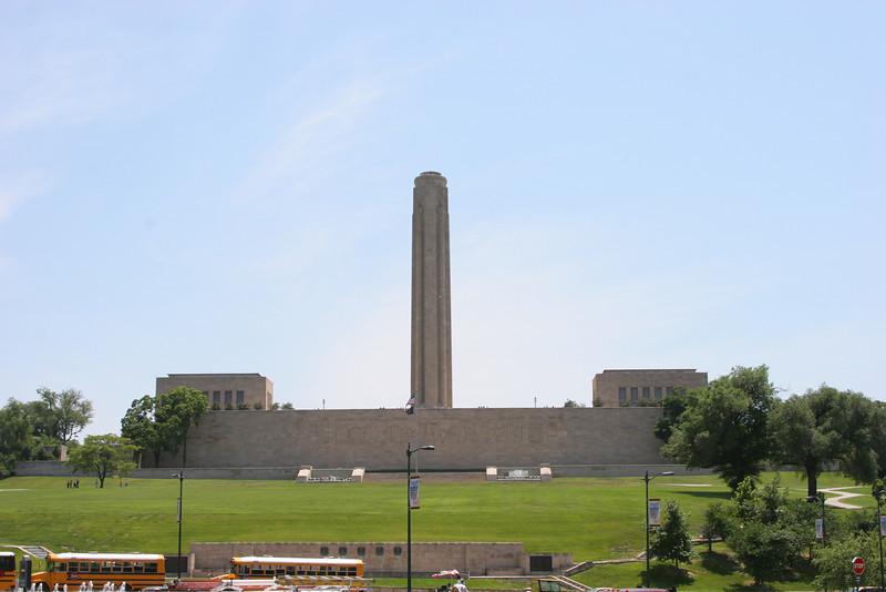 WWI Memorial in KC.