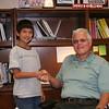 Mark in the Office of the Mayor, Beemer NE.