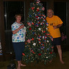 The Balentine's with their 'Independence Tree'. Will it next be a 'Labor Tree' or a 'Halloween Tree'?
