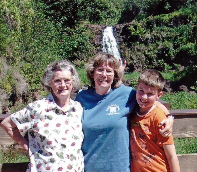 Vivian Starr Rawlings; Nancy Rawlings Donaldson; Keith Donaldson
