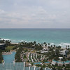View from our balcony - pools and beach!
