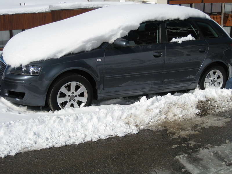 My car covered