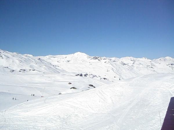 Val Thorens mountain range